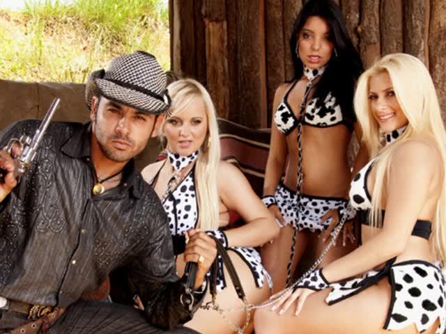 4 andre cowboy transando filme porno