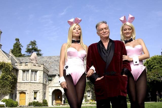 Como são as festas na mansão da Playboy 1
