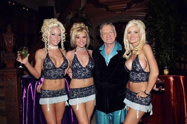 Como são as festas na mansão da Playboy 6