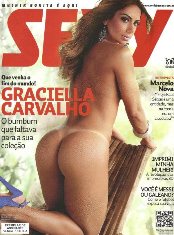 Graciella Carvalho nua pelada na Sexy de Dezembro 1