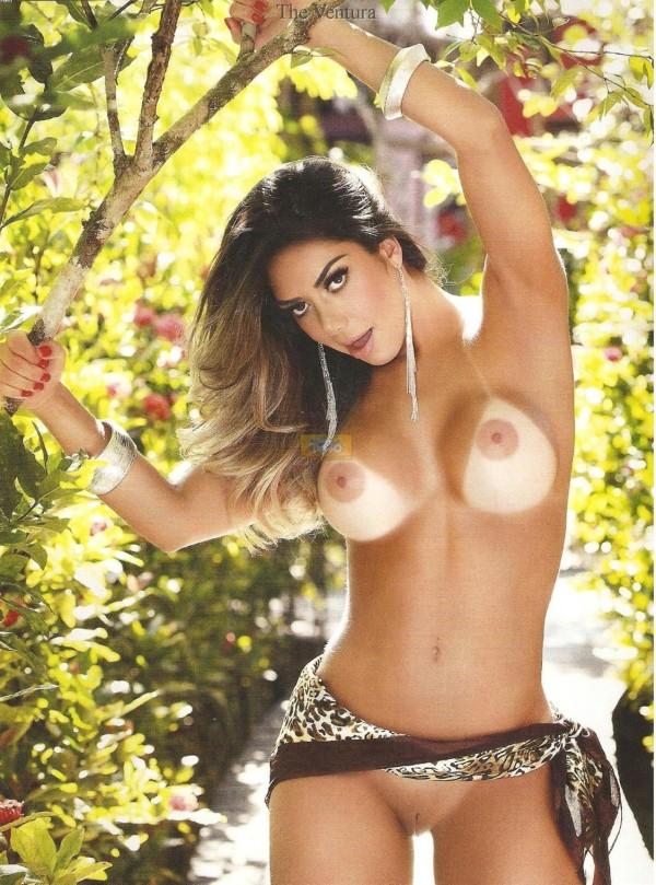 Graciella Carvalho nua pelada na Sexy de Dezembro 12