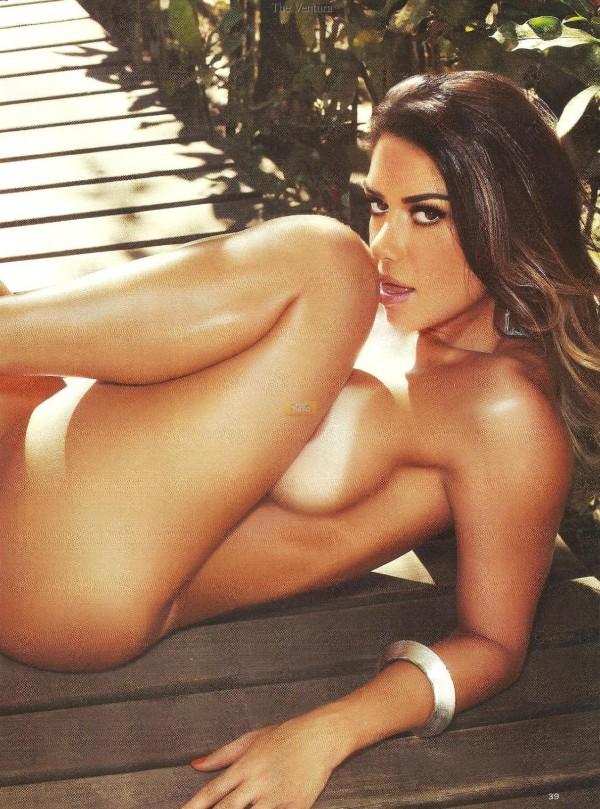 Graciella Carvalho nua pelada na Sexy de Dezembro 15