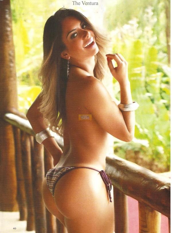 Graciella Carvalho nua pelada na Sexy de Dezembro 16