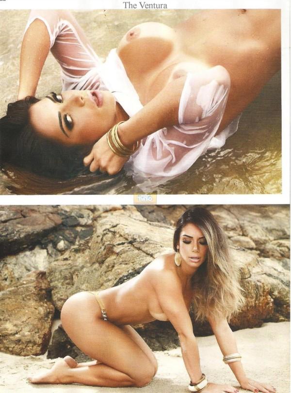 Graciella Carvalho nua pelada na Sexy de Dezembro 22