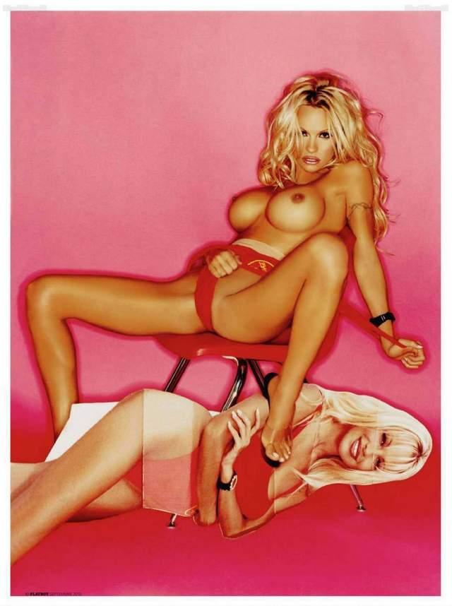 Video e Fotos - Pamela Anderson em sexo explícito