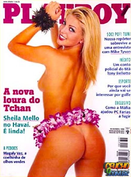 Playboys mais vendidas de todos os tempos no Brasil Sheila Mello
