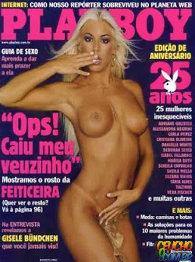 Playboys mais vendidas de todos os tempos no Brasil Feiticeira