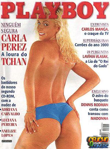 Playboys mais vendidas de todos os tempos no Brasil Carla Perez