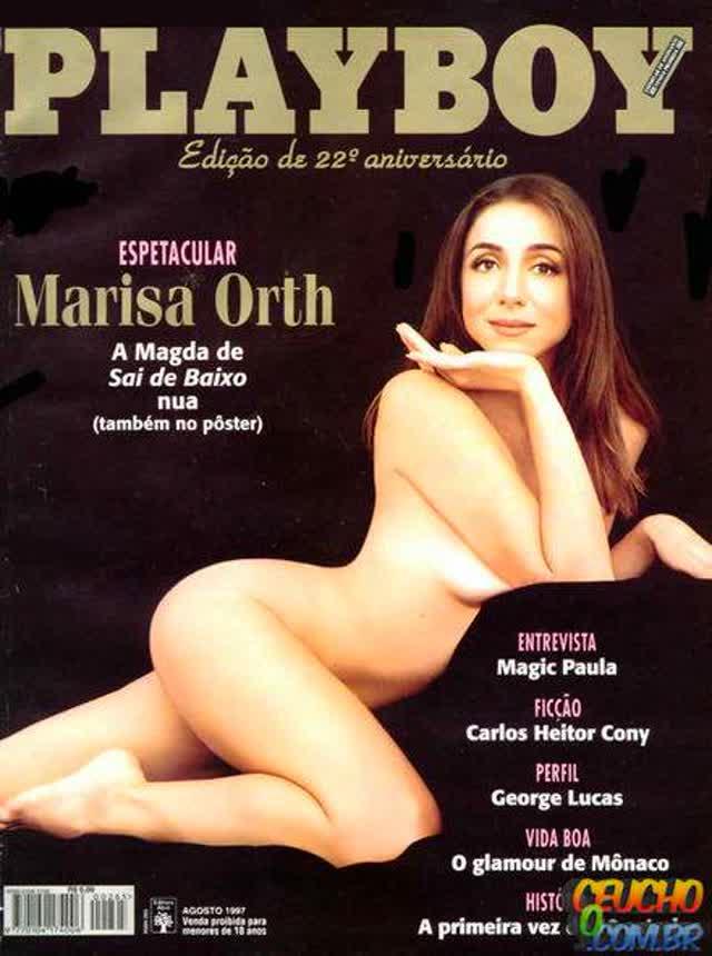 Playboys mais vendidas de todos os tempos no Brasil Marisa Orth