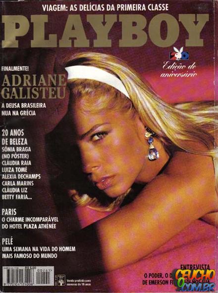 Playboys mais vendidas de todos os tempos no Brasil Adriane Galisteu
