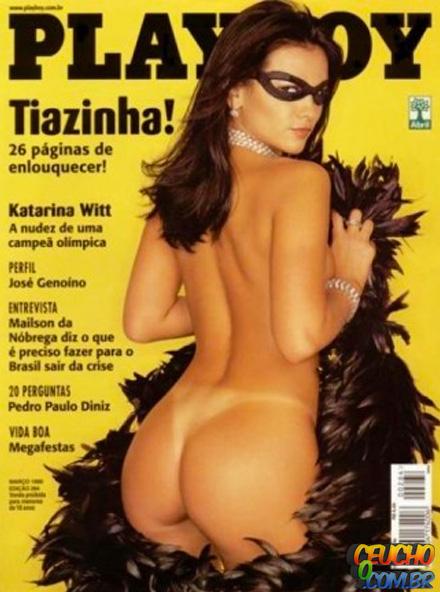 Playboys mais vendidas de todos os tempos no Brasil Tiazinha