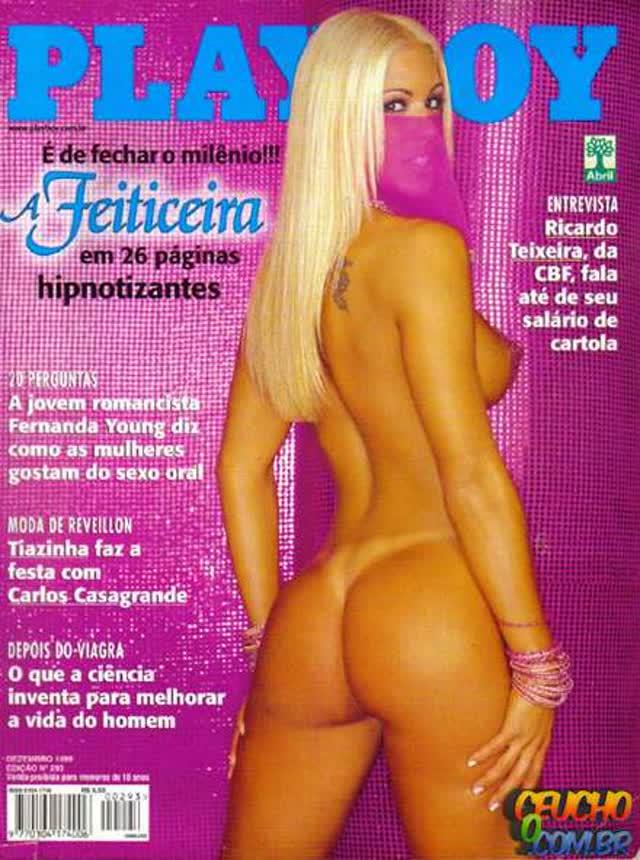 Playboys mais vendidas de todos os tempos no Brasil Feiticeira Dezembro de 1999