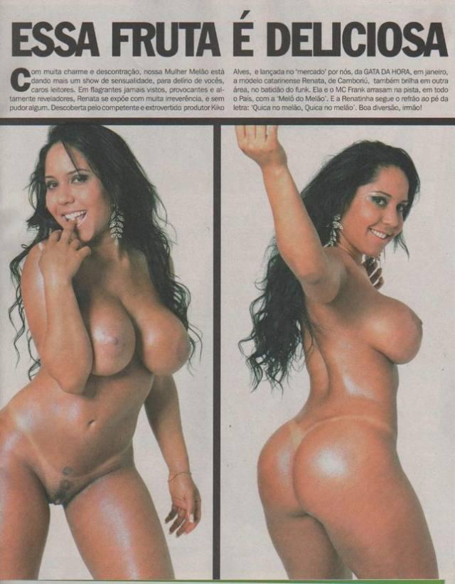 Mulher Melão já posou Nua antes da fama 4