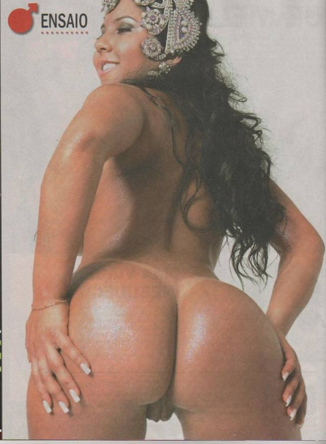Mulher Melão já posou Nua antes da fama 5