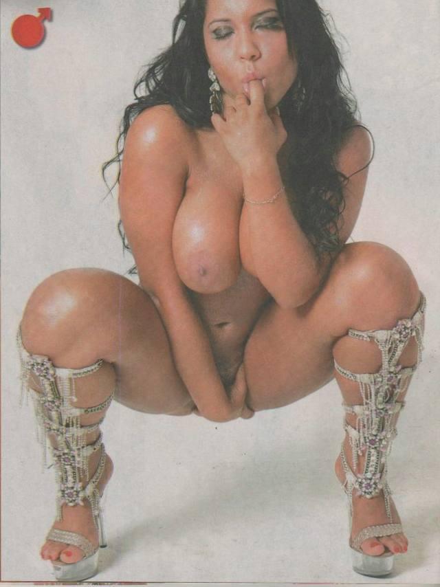 Mulher Melão já posou Nua antes da fama 9