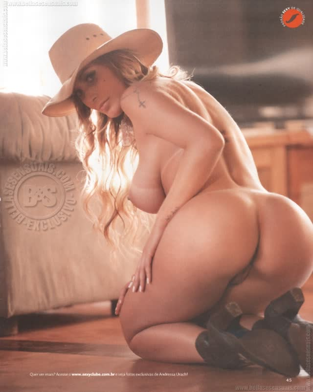 Fotos de Andressa Urach pelada nua na Sexy 6