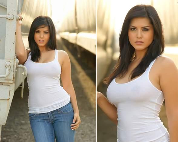 Fotos de Sunny Leone a atriz pornô que está causando no Big Brother indiano 6