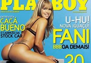 Fani Pacheco do BBB13 nua na playboy