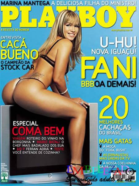Fani Pacheco do BBB13 nua na playboy 1