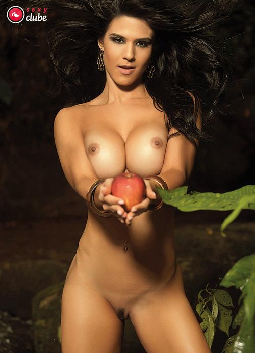 Eva Andressa nua pelada Revista Sexy de Março 11
