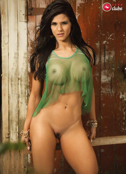 Eva Andressa nua pelada Revista Sexy de Março 21