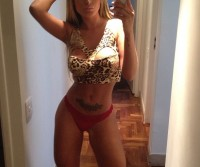 Andressa Urach exibe, mais uma vez, seus atributos no Instagram