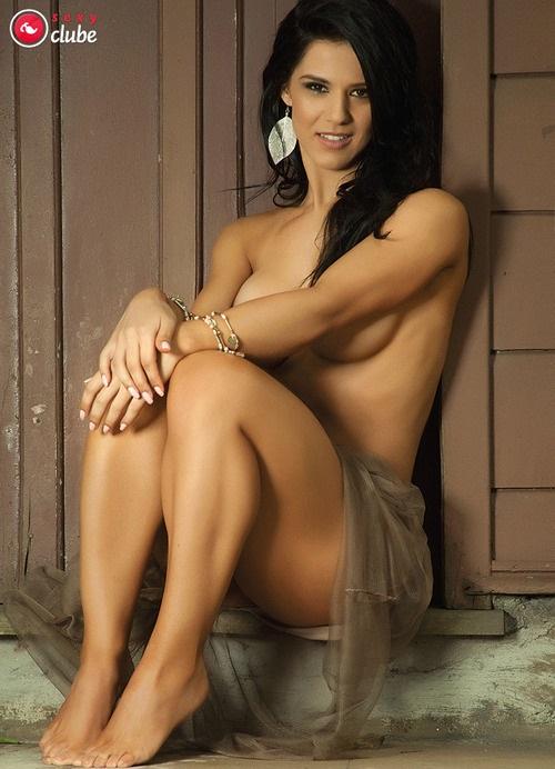 Eva Andressa nua pelada na Revista Sexy 2