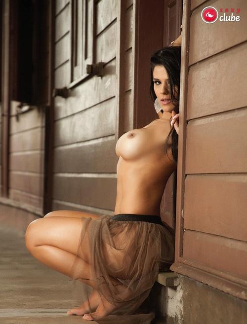 Eva Andressa nua pelada na Revista Sexy 25