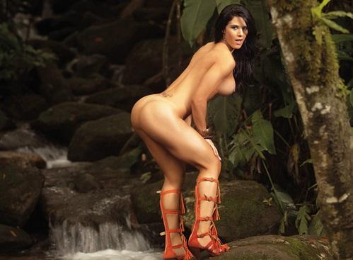 Eva Andressa nua pelada na Revista Sexy 29