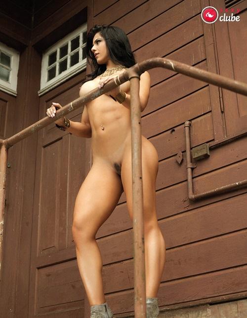 Eva Andressa nua pelada na Revista Sexy 33
