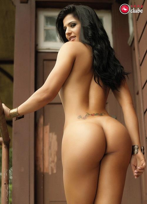 Eva Andressa nua pelada na Revista Sexy 34