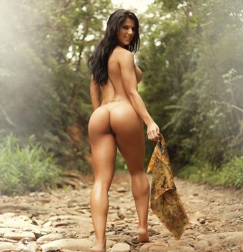 Eva Andressa nua pelada na Revista Sexy 36