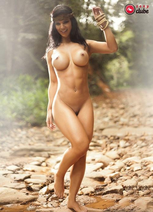 Eva Andressa nua pelada na Revista Sexy 39