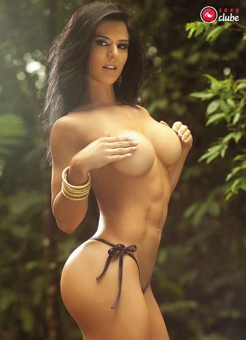 Eva Andressa nua pelada na Revista Sexy 7