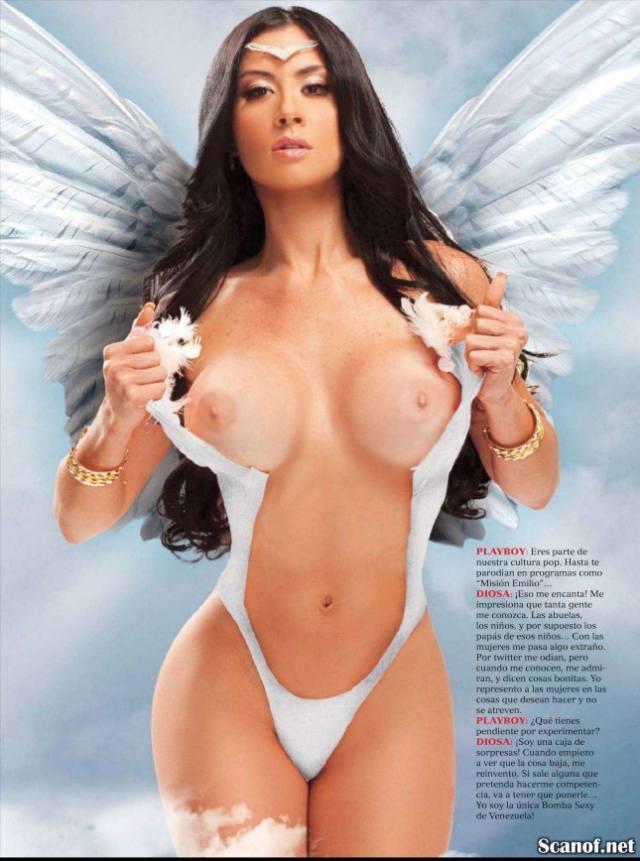 FOTOS E VIDEOS - Com vocês a gostosona Diosa Canales pelada 22