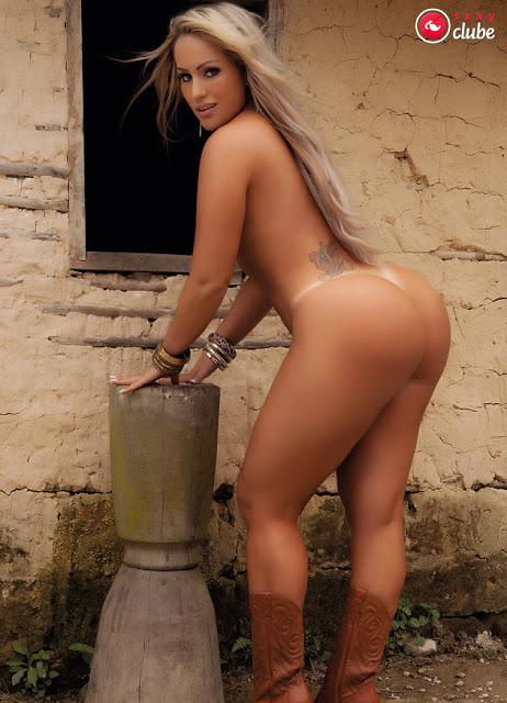 FOTOS e VIDEOS - Super gostosa Isis Gomes nua pelada (7)