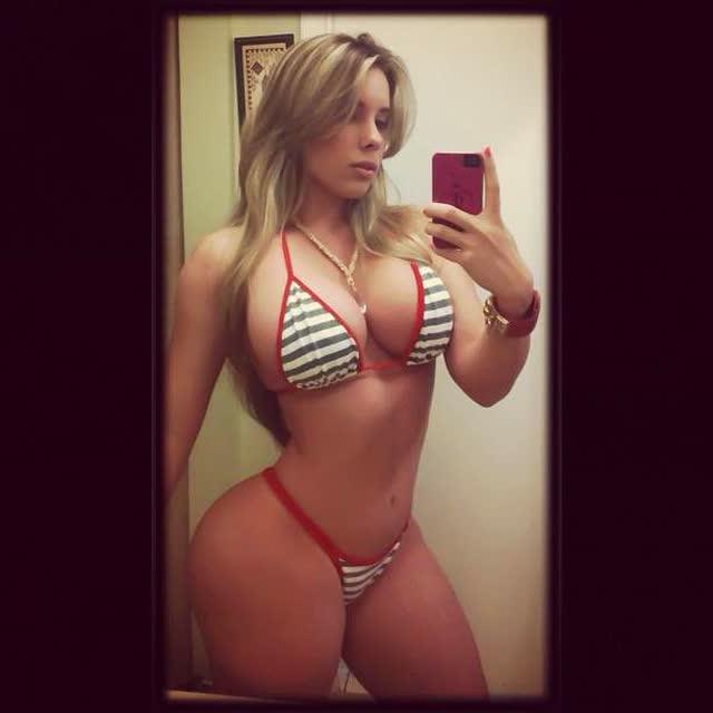 Kathy Ferreiro loira gostosa cubana pelada fotos 8