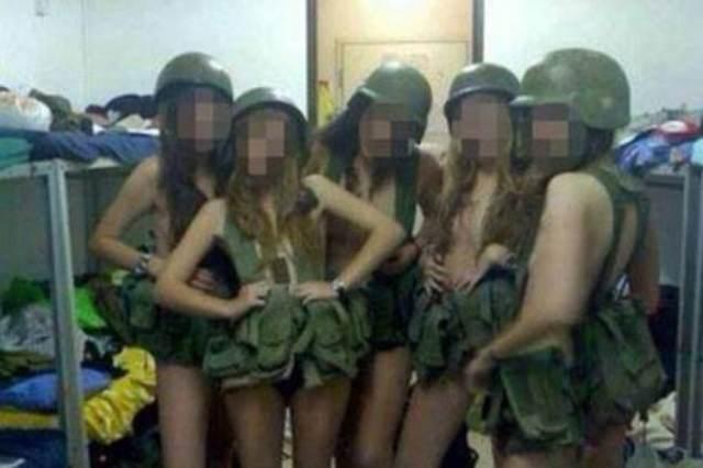 Gostosas Militares israelenses atacam novamente ao fazer video com dança sensual 4