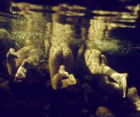 Peladas embaixo d'água!