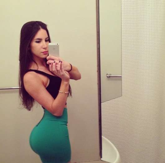 Jennnifer Selter nude o bumbum mais famoso do Instagram 19