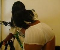 Tatianni Di Pollini, bunduda que adora uma bike!