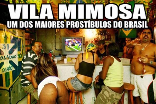 Conheça um pouco da Vila Mimosa prostituicao puta amadora