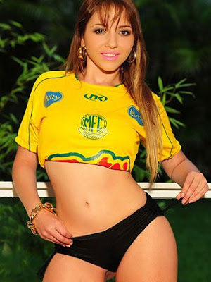 Nicolli Moreira a gata do Paulistão caiu na net 3
