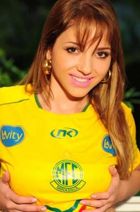 Nicolli Moreira a gata do Paulistão caiu na net 7