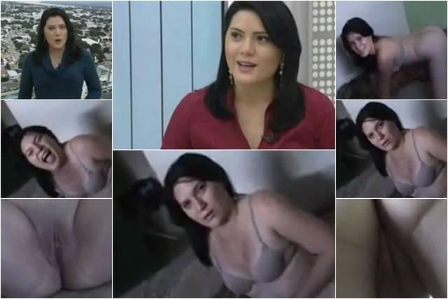 Ellen Ferreira reporter da TV Roraima afiliada Globo caiu na net
