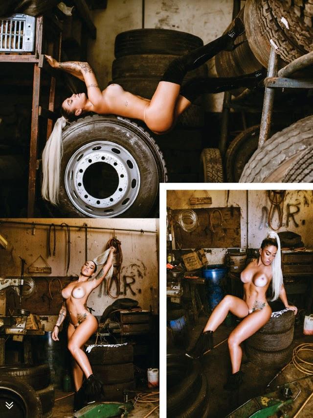 Dani Bolina nua pelada na Sexy de Abril 2014 13