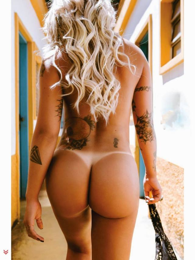 Dani Bolina nua pelada na Sexy de Abril 2014 9