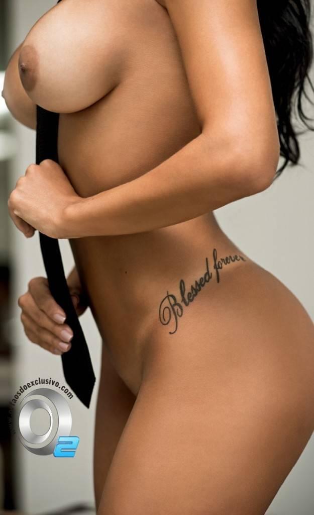 Gaby Fontenelle pelada nua na Playboy de Abril 2014 10