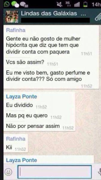 Patricinhas de Salvador falam e mostram demais em WhatsApp 2