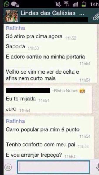 Patricinhas de Salvador falam e mostram demais em WhatsApp 3